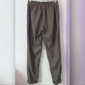 Bershka Pants - bershka ⋆ houndstooth trousers